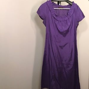 Purple dress from the limited.